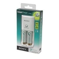 Sony BCG-34HS2K Kompakt Şarj Cihazı+2 adet 2100mAH Pil