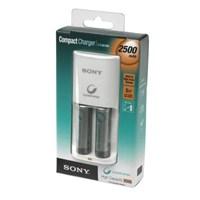 Sony BCG-34HS2E Kompakt Şarj Cihazı+2 adet 2500mAH Pil