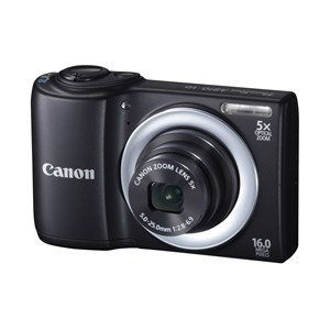 Canon Powershot A810 IS 16 MP 5x Optik Zoom 2.7 inch LCD HD Dijital Fotoğraf Makinesi