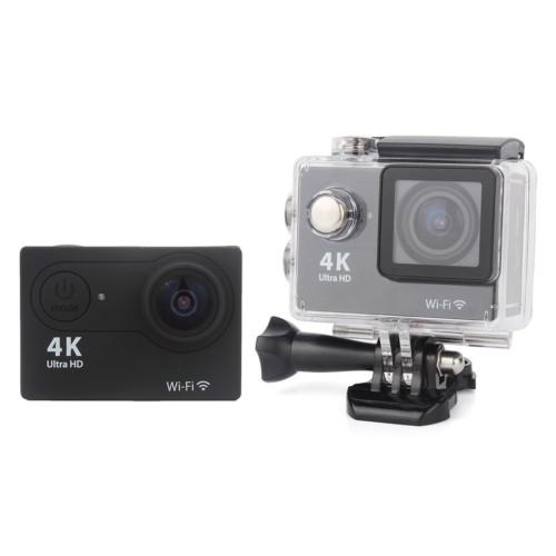 "Angel Eye KS-504s 4K 1080P Ultra HD 2.0""LCD Ekranlı Waterproof Wifi Aksiyon Kamera Siyah"