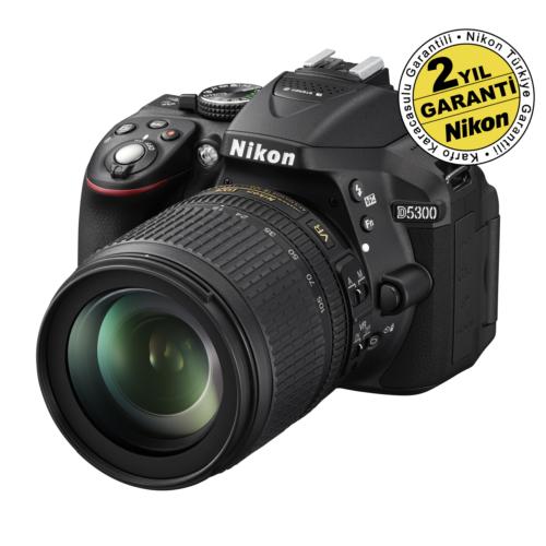 Nikon D5300 18-105MM F3.5-5.6G VR SLR Dijital Fotoğraf Makinesi