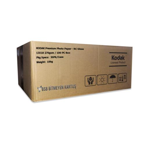 Kodak Ultra Premium Glossy,Parlak 13X18 270gr 1 Koli 30 Paket