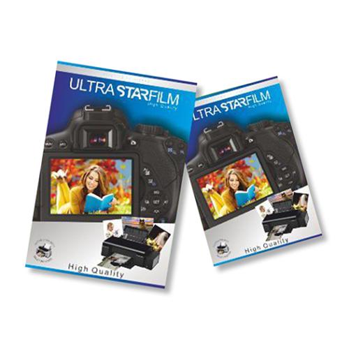 Ultrastarfilm Kuşe Kağıt A4 Parlak Çift Taraflı 300Gr/m² 50 Adet/Paket (Tüm Yazıcılarla Uyumlu)