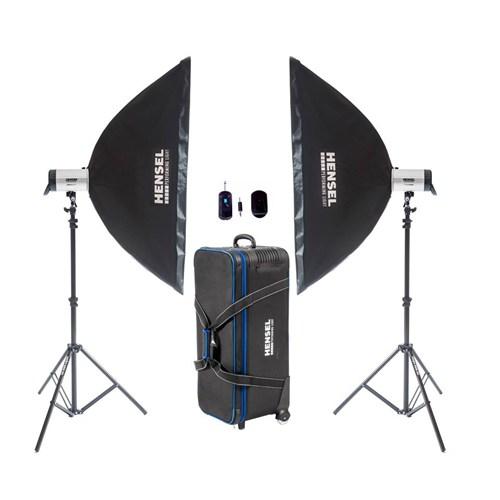Hensel Integra 1000W 2'Li Pro Plus Fm Paraflaş Set