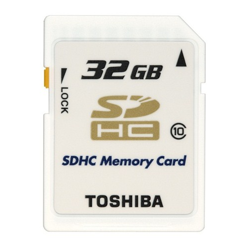 Toshiba 32GB Class10 High Speed Professional SDHC
