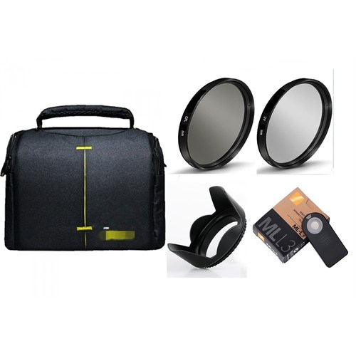 Beta Nikon 18-55Mm Lens İçin Kare Çanta Lı 5 Li Filtre Ve Aksesuar Seti