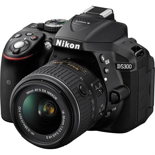 Nikon D5300 18-55Mm Iı Vr Kit Fotoğraf Makinesi (İthalatçı Garantili)