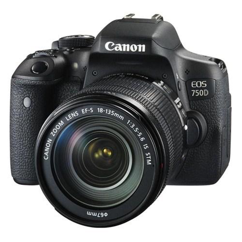Canon Eos 750D 18-135Mm Is Stm Dslr Fotoğraf Makinesi (İthalatçı Garantili)
