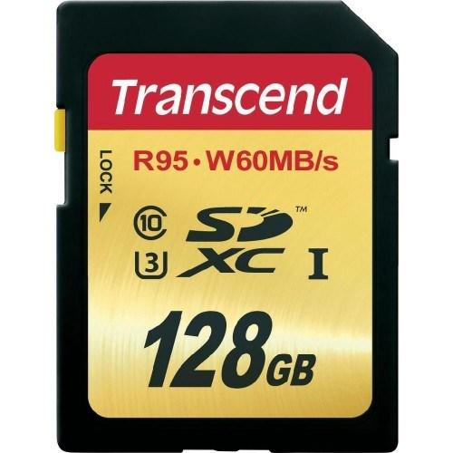 Transcend 128Gb Sdxc Uhs-I U3 633X