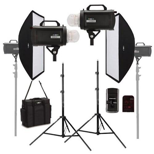 Rime Lite Storm 5 (500 W/S) Paraflaş Set