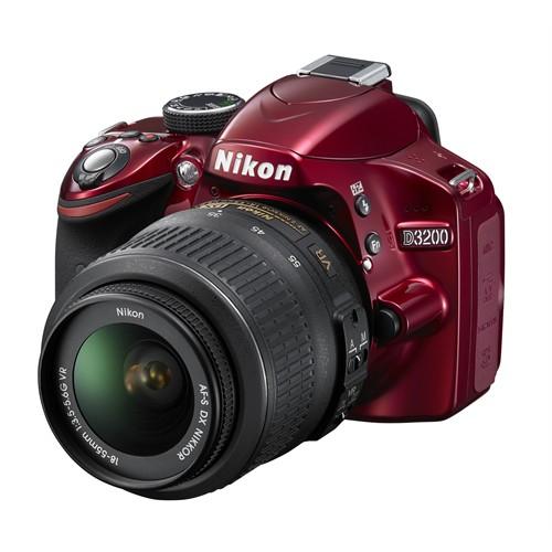 Nıkon Dıgıtal Camera D3200+18-55 Vr Iı Red Kıt