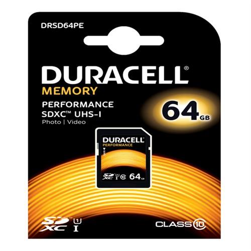 Duracell 64Gb Sdhc Uhs-I Class 10 Hafıza Kartı