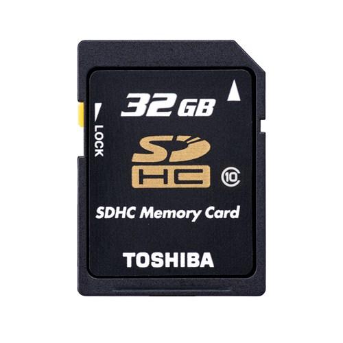 Toshiba 32GB SDHC Class 10
