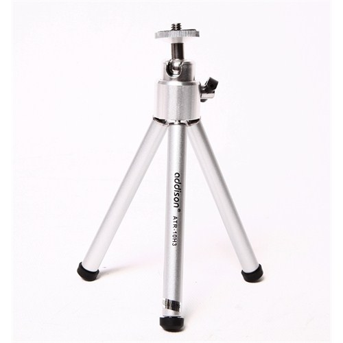Addison ATR-10H3 12.7-21.6cm Mini Tripod