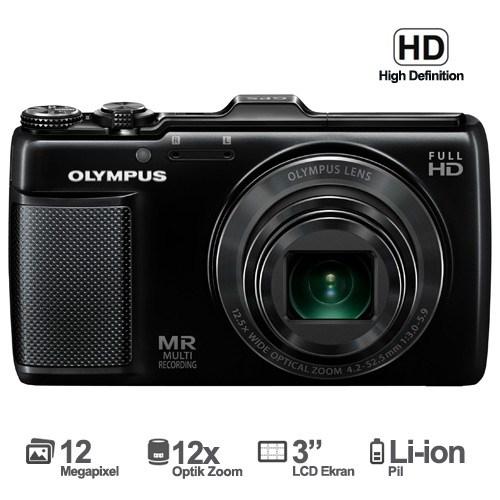 """Olympus SH-25MR 16 MP 12,5X Optik 3"""" LCD Ekran Dijital Fotoğraf Makinesi"""