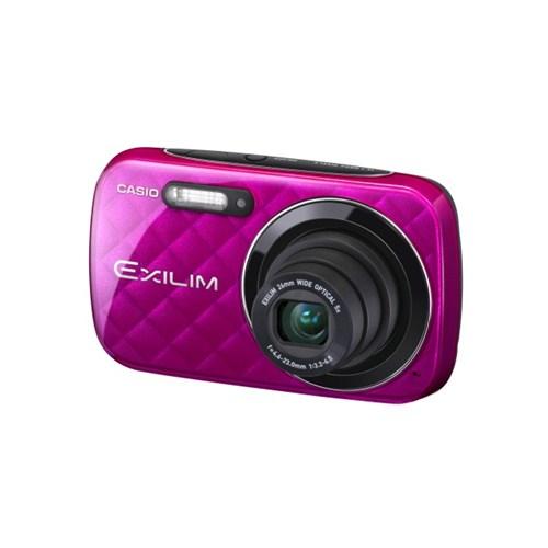 """Casio Ex-N10 16 MP 5x Optik Zoom 2.7"""" LCD Ekran Dijital Fotoğraf Makinesi (Vivid Pink)"""