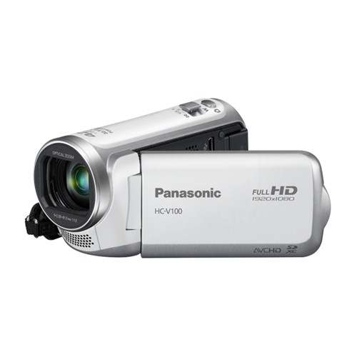 Panasonic HC-V100 HD Video Kamera Beyaz