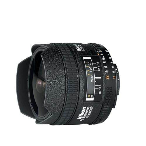 Nikon 16mm F2.8 Af Fisheye Nikkor D Lens A