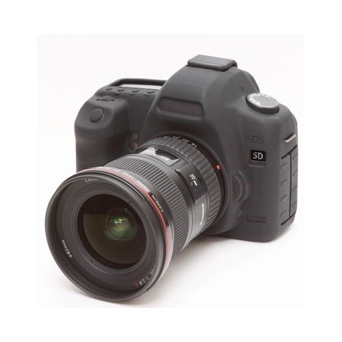 easyCover Silicon Case Canon 5D mark II ECC5D2 ( Siyah )