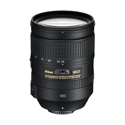 Nikon AF-S Nikkor 28-300mm f/3.5-5.6G ED VR Objektif