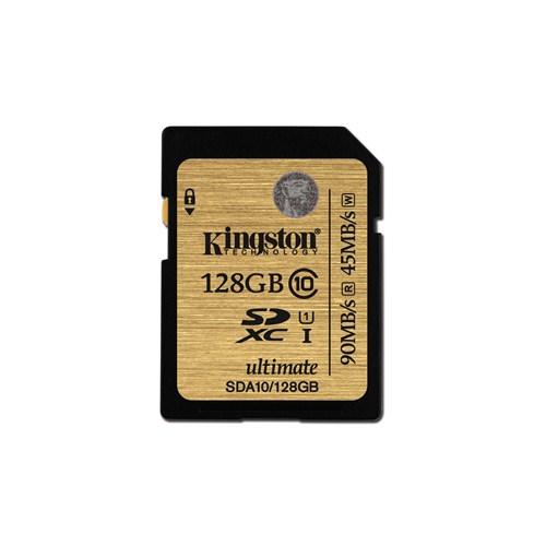 Kingston 128GB SDXC Class 10 UHS-I Ultimate Hafıza Kartı SDA10/128GB