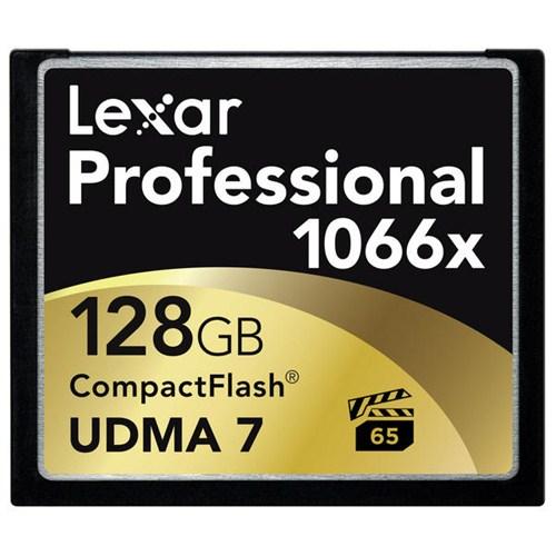 Lexar 128GB 1066x Professional Compact Flash Hafıza Kartı LCF128CRBEU1066