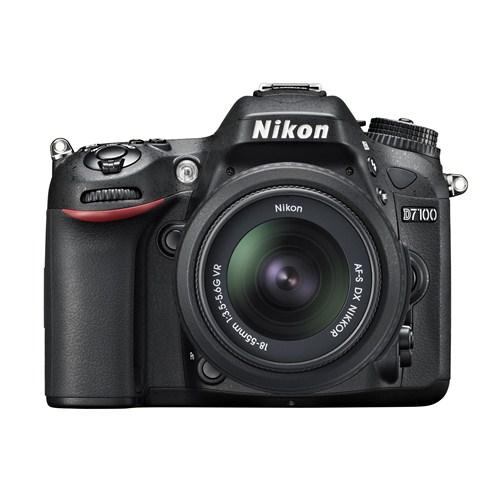 Nikon D7100 18-55mm VR Kit 24,1 MP 3,2''LCD Ekran Dijital SLR Fotoğraf Makinesi