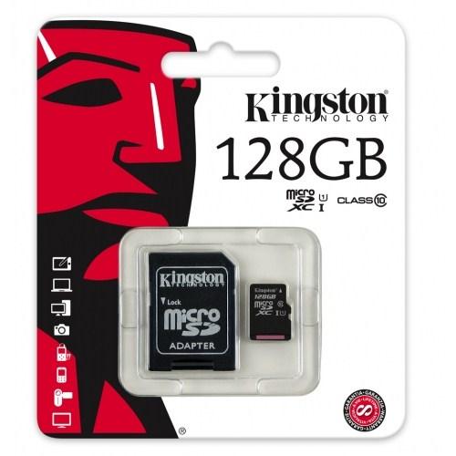 Kingston 128GB Microsdxc Class10 SDCX10/128GB Hafıza Kartı