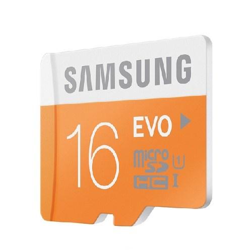 Samsung 16GB MicroSD Evo Class10 48mb/sn Hafıza Kartı + SD Adaptör MB-MP16DA/TR