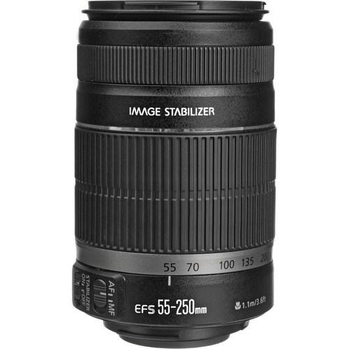Canon EF-S 55-250MM F4-5.6 IS II Objektif