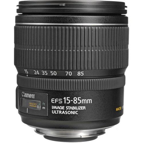 Canon EF-S 15-85MM F3.5-5.6 IS USM Objektif