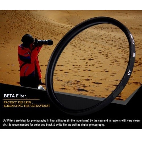 Beta 62Mm Ultra Viole Koruyucu Uv Filtre