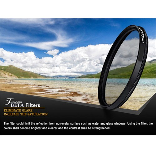 Beta 72Mm Cir Cpl Circular Polarize Filtre