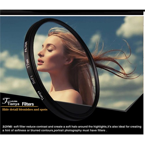 Tianya 72Mm Soft Diffuser Yumuşatıcı Filtre