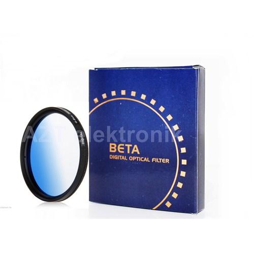 Beta 62Mm Gradual Degrade Kademeli Blue Mavi Filtre