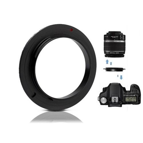 Canon 50Mm F1.8 Iı Lens İçin Macro Makro Ters Lens Objektif Adaptörü
