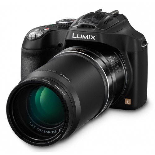"Panasonic Lumix DMC-FZ72 60x Optik Zoom 16 MP Çözünürlük 3"" LCD Ekran Fotoğraf Makinesi"