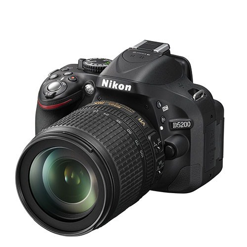 Nikon D5200 + 18-105 Mm Lens Slr Fotoğraf Makinesi (İthalatçı Garantili)