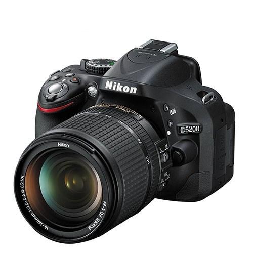 Nikon D5200 + 18-140 Mm Lens Slr Fotoğraf Makinesi (İthalatçı Garantili)