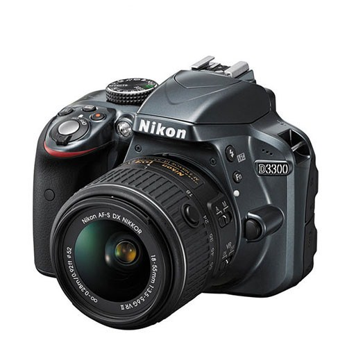 Nikon D3300 + 18-55 Mm Lens Slr Fotoğraf Makinesi (İthalatçı Garantili)