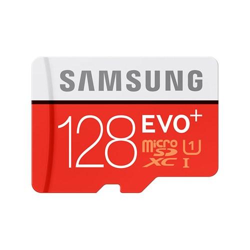 Samsung 128GB MicroSD Evo Plus Class10 80mb/sn Hafıza Kartı + SD Adaptör MB-MC128DA/TR