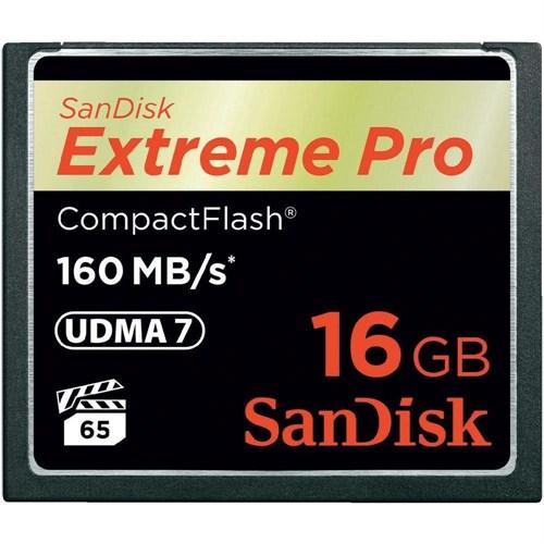 Sandisk 16 Gb Cf Kart 160Mb/S Ext Pro Sandısk Sdcfxps-016G-X46