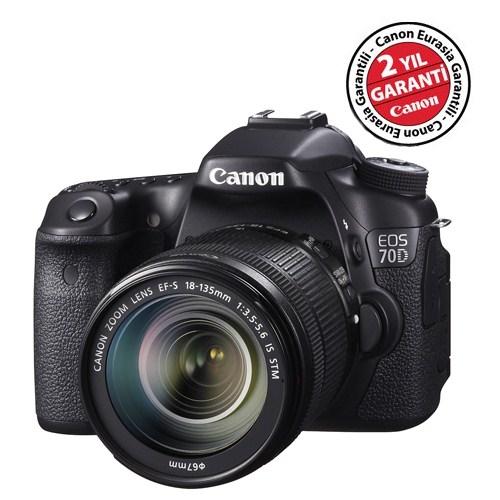 Canon Eos 6D 24-105mm f/3.5-5.6 IS STM SLR Dijital Fotoğraf Makinesi