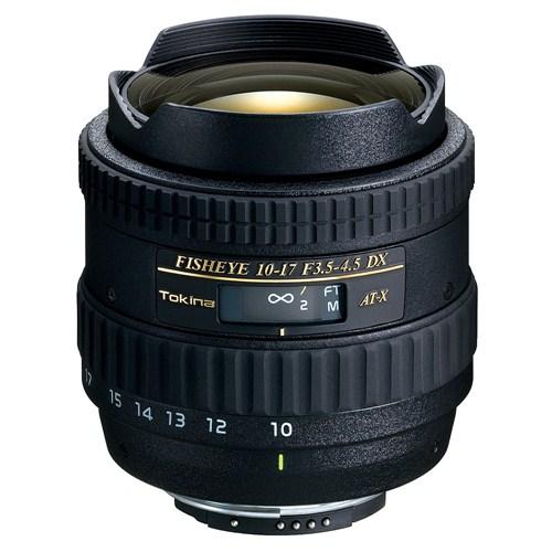 Tokina 10-17mm F3.5-4.5 AT-X DX Fisheye Objektif Nikon Uyumlu