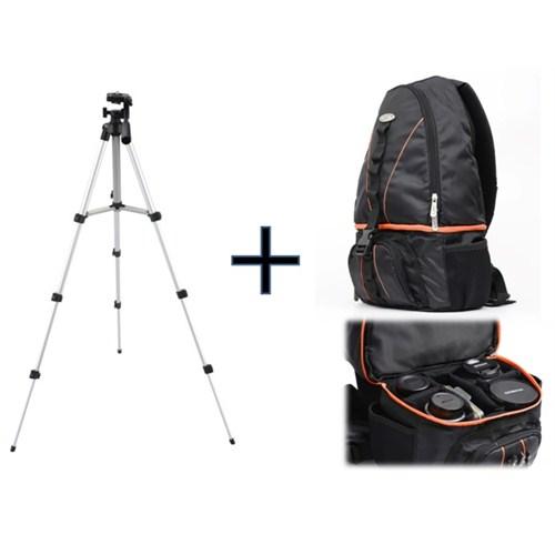 Iconic FOCUS130 SLR Kamera Sırt Çantası + 130cm tripod(Taşıma Çantası Hediyeli)