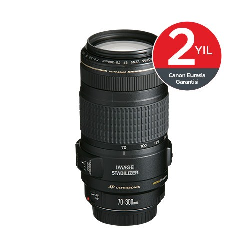 Canon EF 70-300mm f/4-5.6 IS USM Objektif