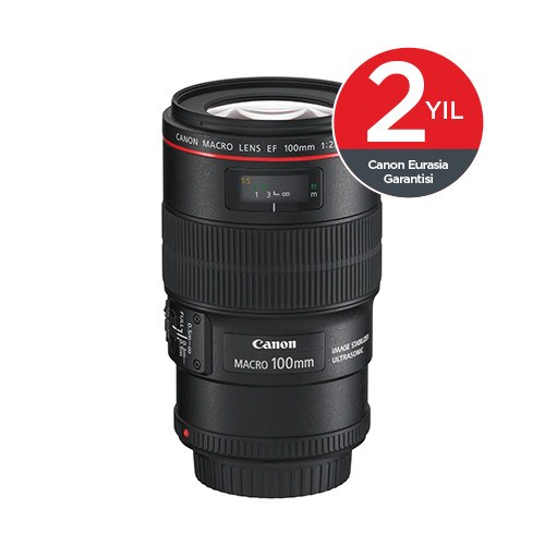 Canon EF 100MM 2.8 L IS USM Macro Objektif