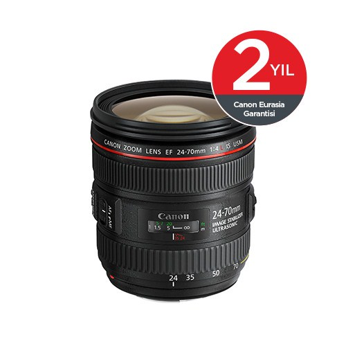Canon EF24-70MM F4L IS USM Objektif