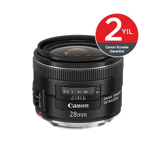 Canon EF28MM F2.8 IS USM Objektif