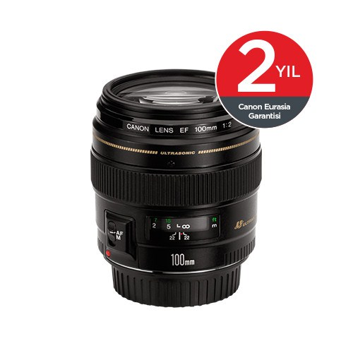Canon EF100MM F2 USM Objektif
